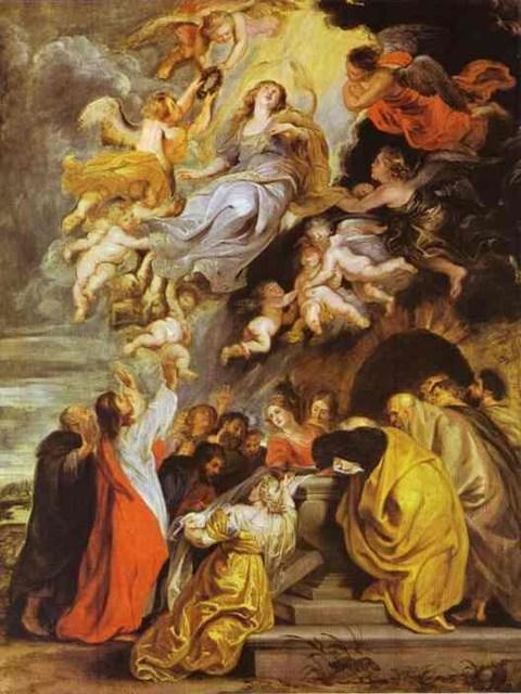 Rubens. Asunción de la Virgen